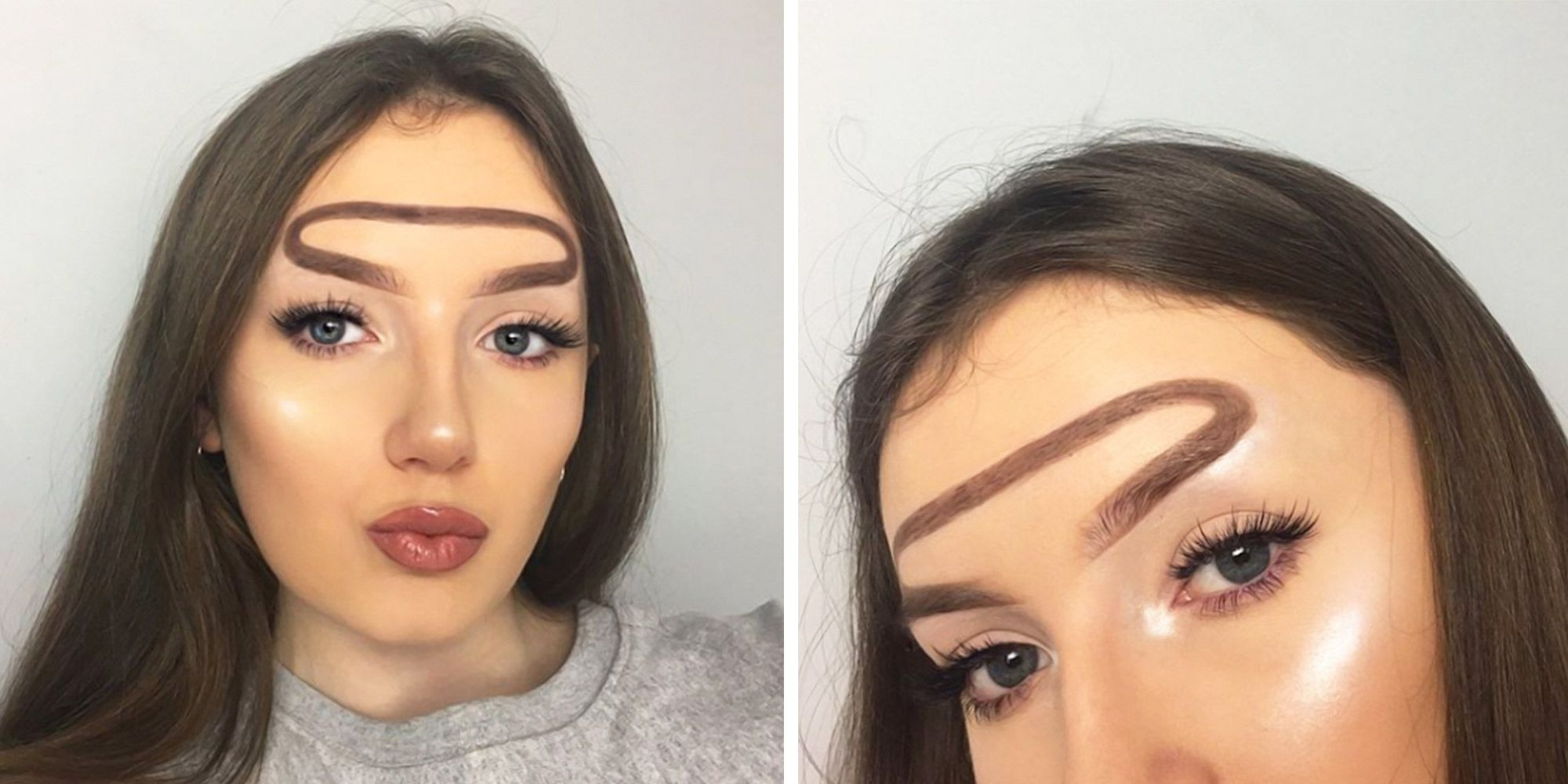 Halo Brows Are Trying To Be The Next Instagram Brow Trend