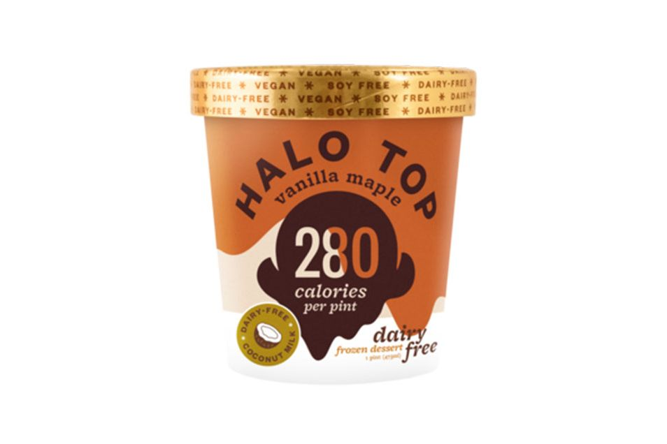Halo Top Dairy Free Vanilla Maple