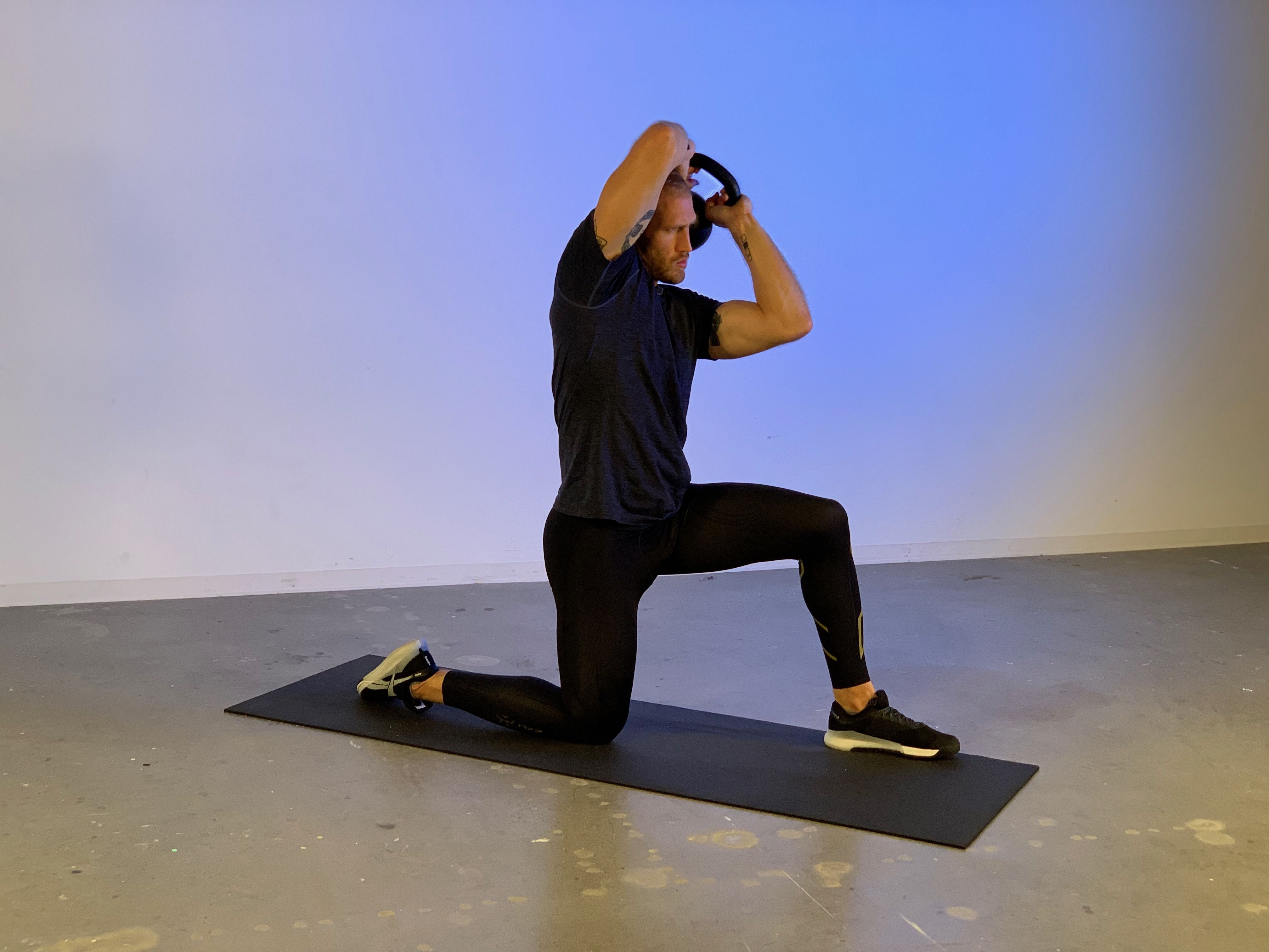 How to Do Kettlebell Halos to Keep Your Shoulders Safe