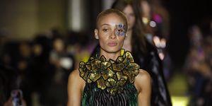 Herfst/winter 2020 show van Halpern tijdens London Fashion Week