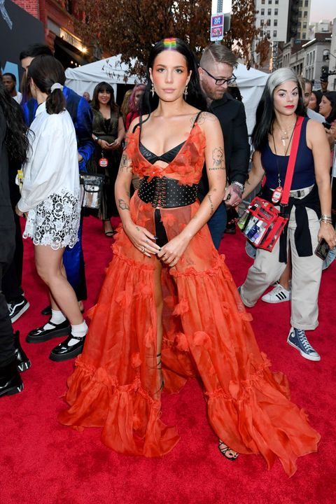 The Nakedest Looks From The 2019 Mtv Vma Awards Red Carpet