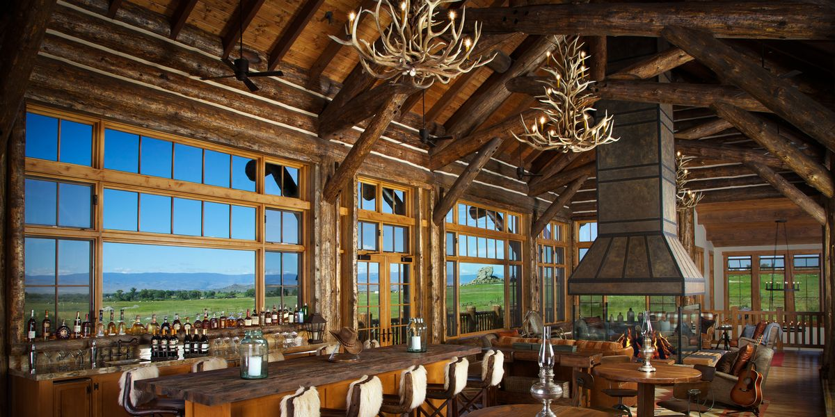 Take a Look Inside This Luxury Wyoming Dude Ranch