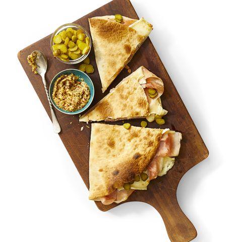 Ham and Brie Quesadilla