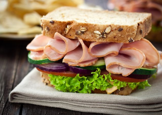 sandwich pavo saludable