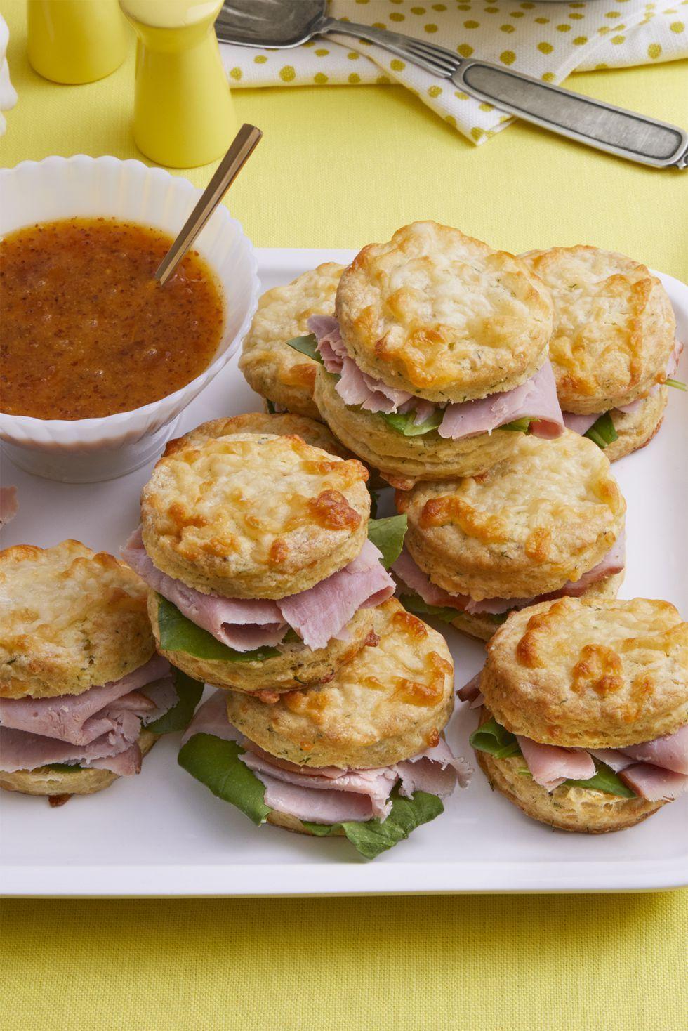 Leftover Ham Recipes Ham Biscuits Sandwich Recipe
