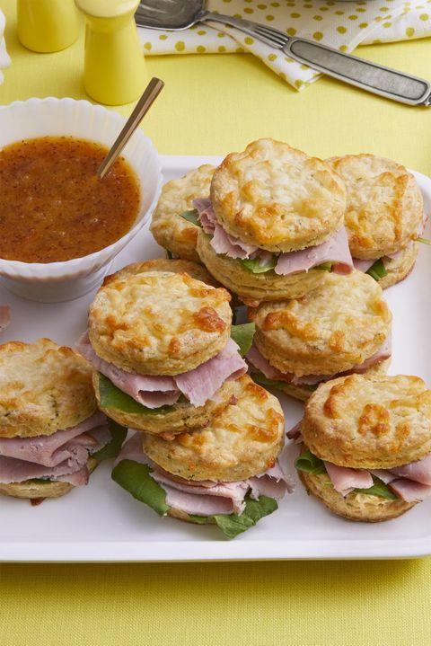 Ham Biscuits - Ham Biscuits Sandwich Recipe