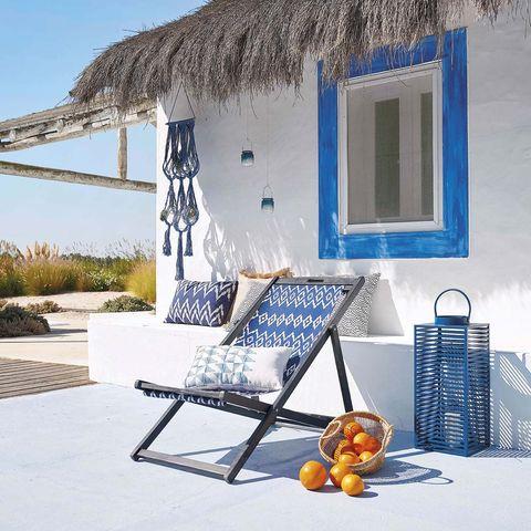Muebles de exterior estilo marinero