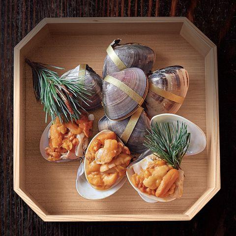 乗松祥子の「梅仕事おせちレシピ」 はまぐりとうにの重ね焼き