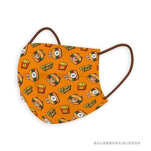 熊大、兔兔變成漢堡跟比薩!line friends全新2款限量醫療口罩,搶先在「這天」開賣