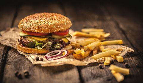 hamburger recept