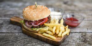 Hamburgersaus, hamburger
