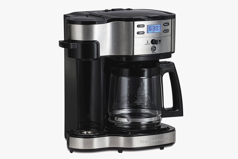 Hamilton Beach Single Serve Coffee Brewer And Full Pot Coffee Maker