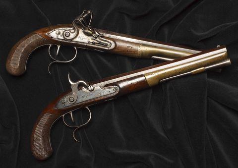 Product, Gun, Firearm, Trigger, Shotgun, Black, Metal, Grey, Gun accessory, Revolver,