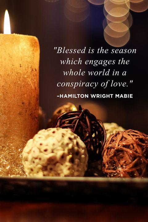 Hamilton Wright Mabie Religious Christmas Quotes