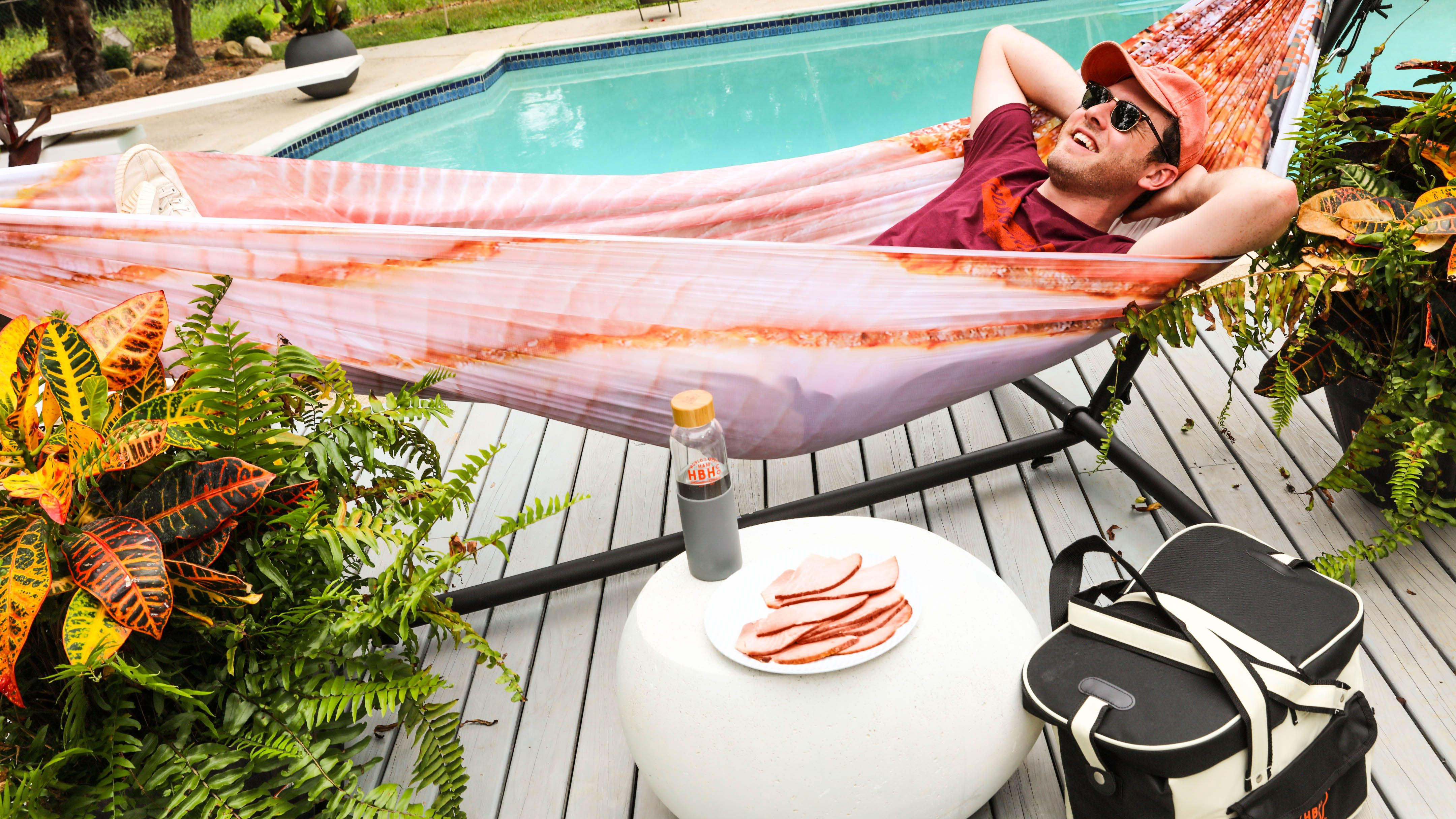 Honey Baked Ham Made HAMmocks In Case You Want To Lounge On Some Meat This Summer