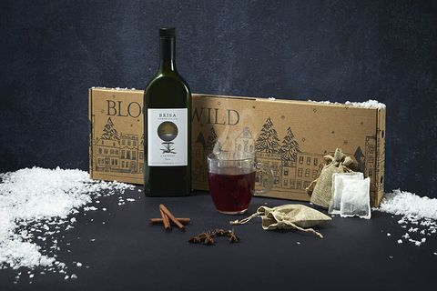 Mulled wine letterbox Bloom & Wild