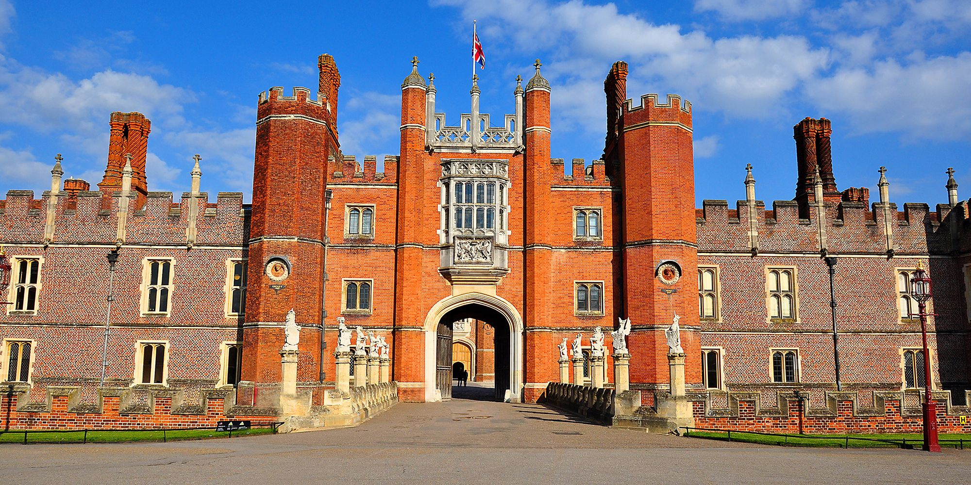 Hampton Court palace in London, UK
