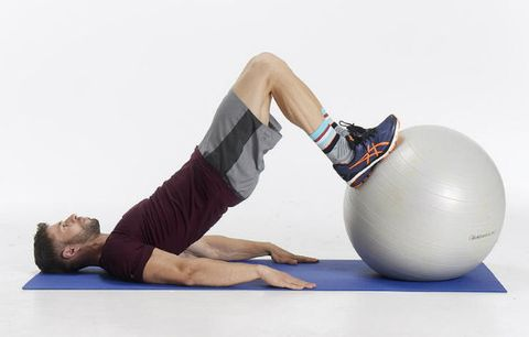 Swiss ball, Physical fitness, Ball, Pilates, Exercise equipment, Joint, Knee, Abdomen, Exercise, Ball (rhythmic gymnastics),