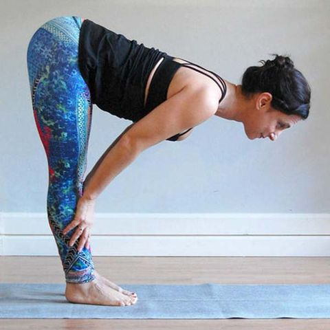 hamstring yoga stretches