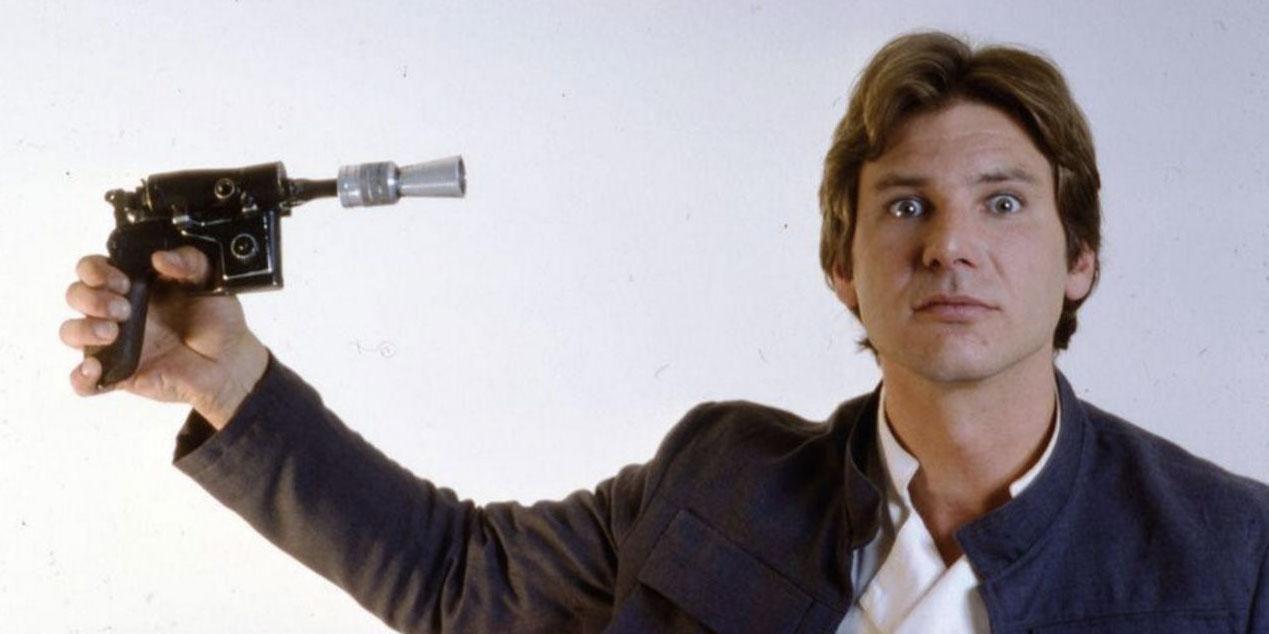 Han Solo y su pistola