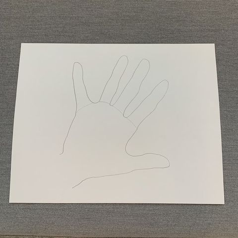 diy hand turkey