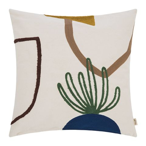 Printed cushion, £59 at Amara