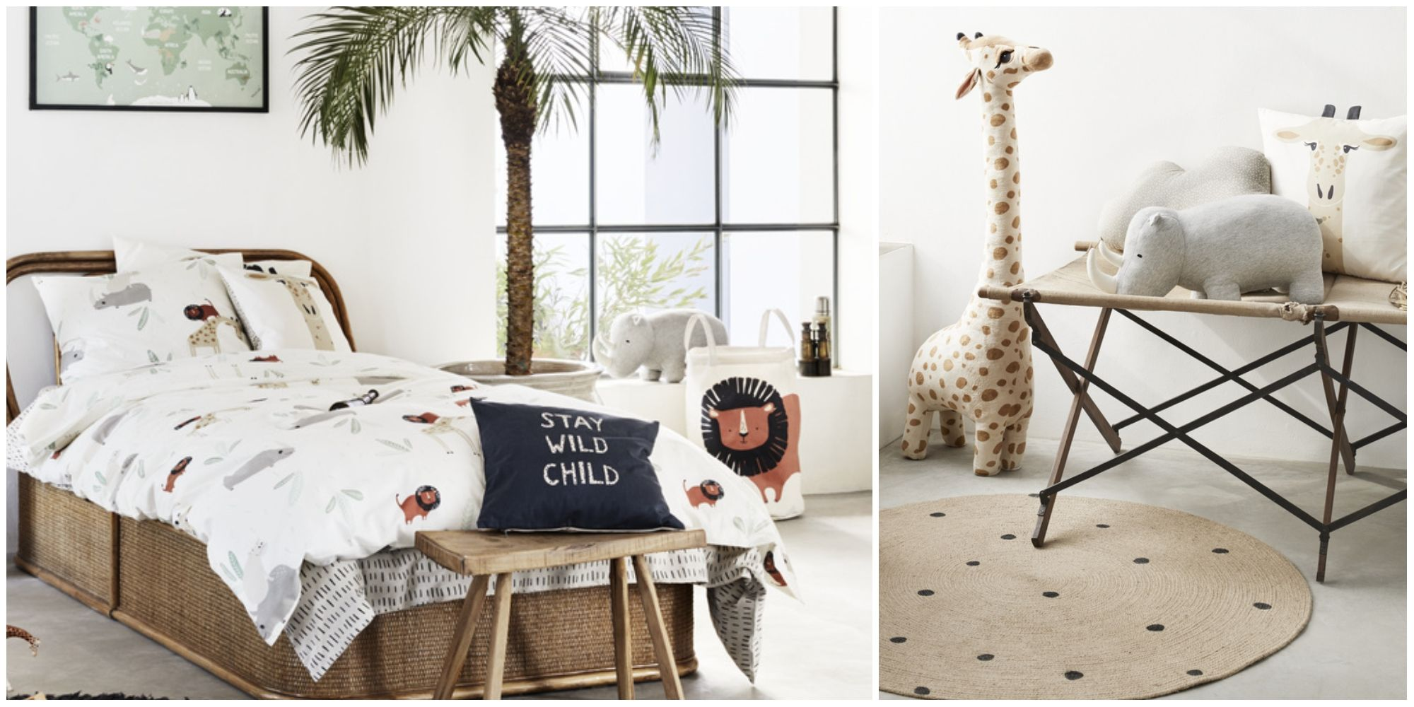 H&M Home Launches Playful Safari Themed Children