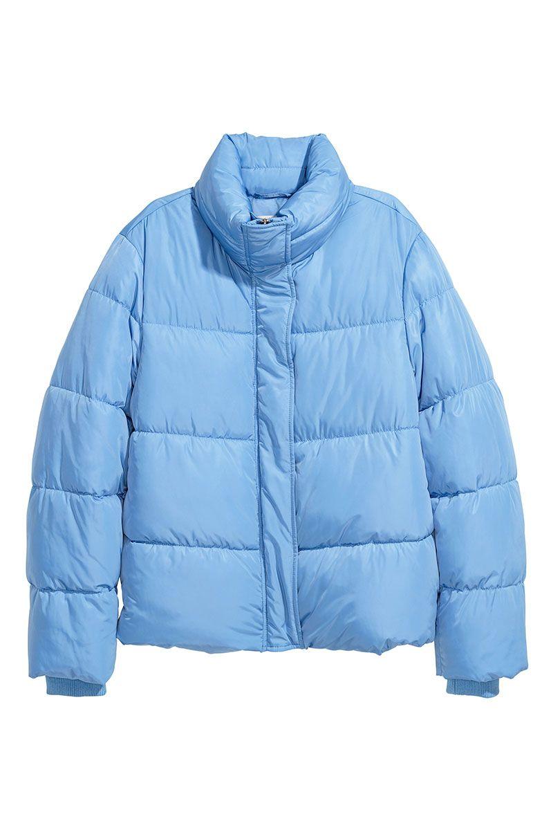 Pale blue H&M puffer jacket