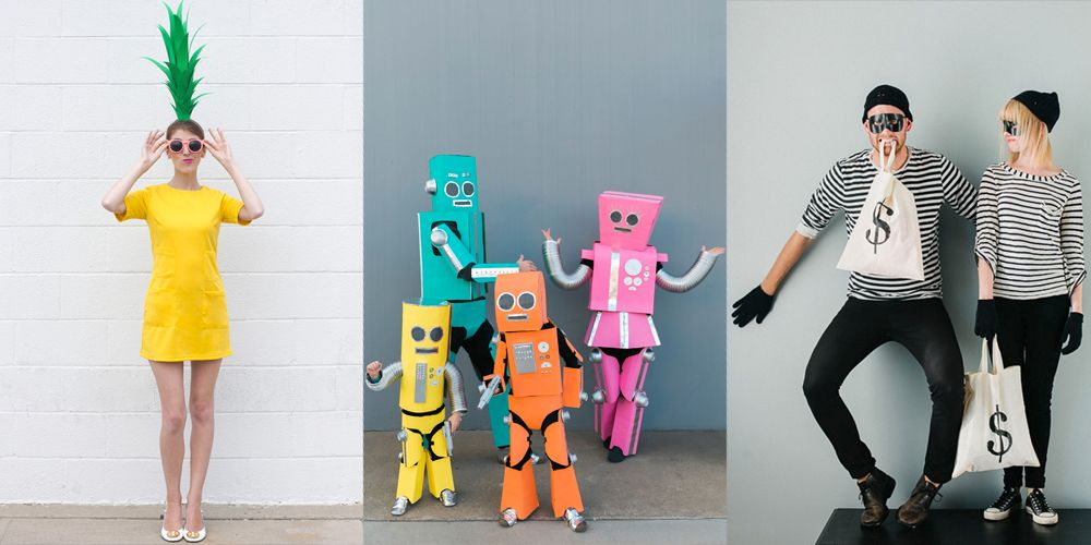 handmade halloween costuems & 38 Easy Homemade Halloween Costumes for Adults and Kids - Best DIY ...