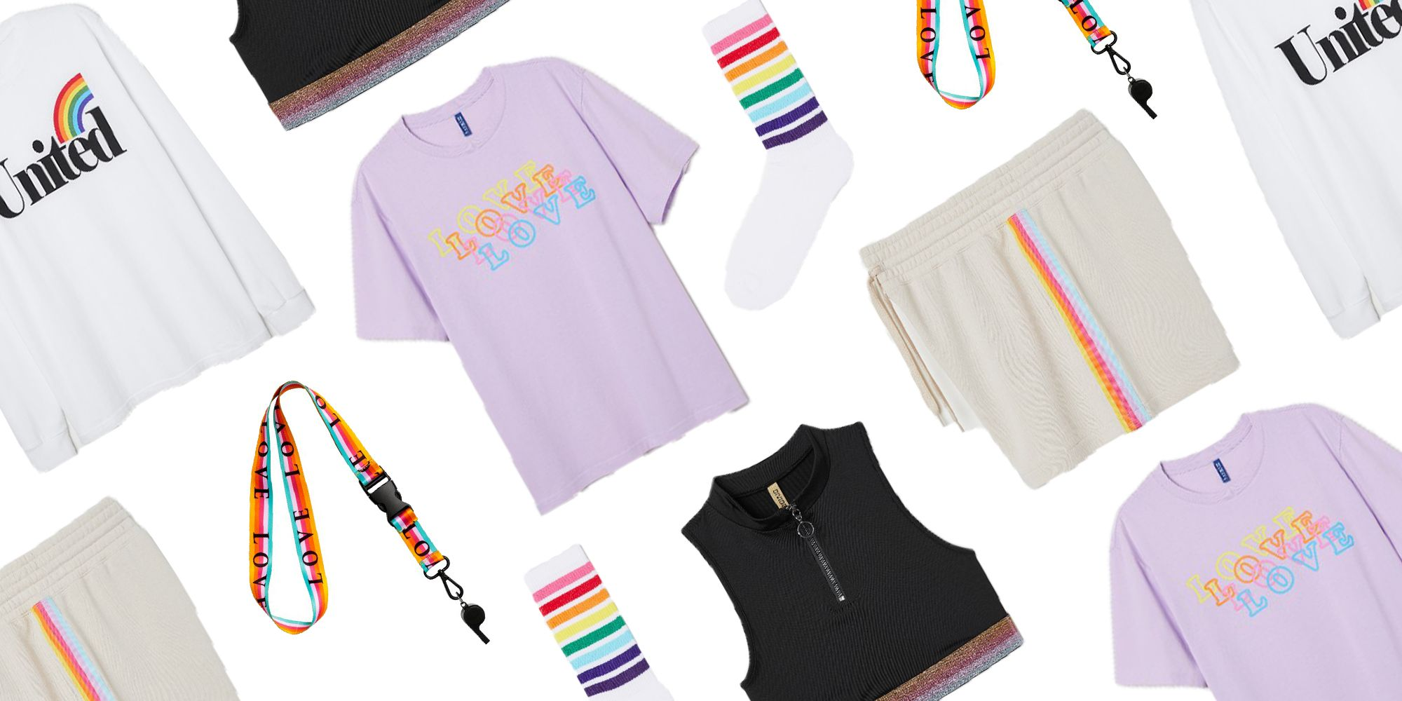 1ce494d3b80df0 H M s Rainbow-Filled LGBTQ+ Collection Is A Sparkling Celebration Of Love