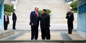 U.S. President Donald Trump Visits South Korea
