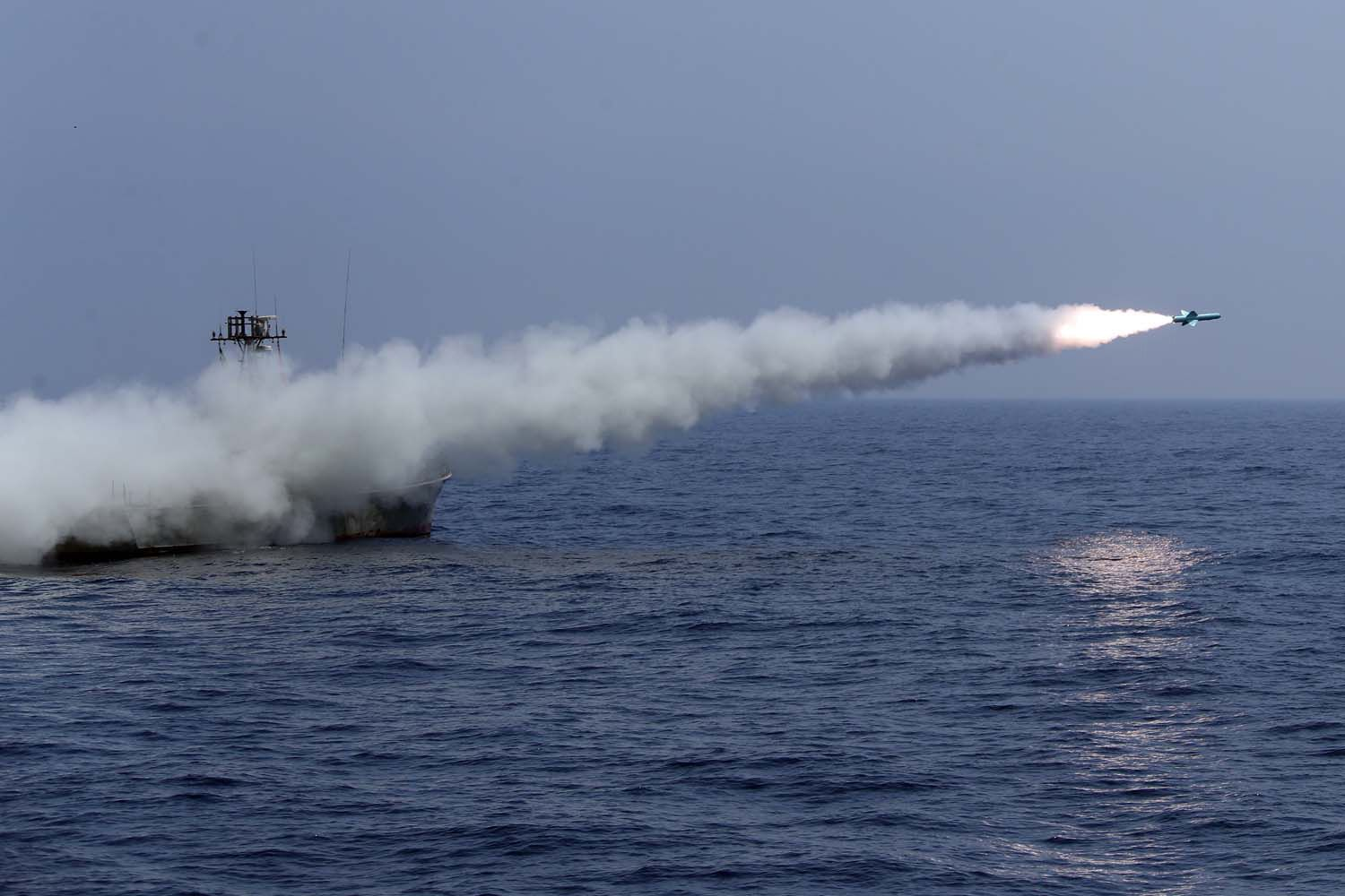 Iran Is Quietly Building a Fleet of Missile-Slinging Catamarans