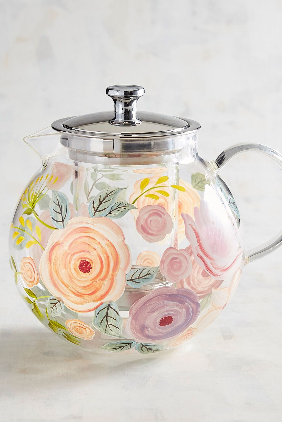 handpainted teapot for mother's day