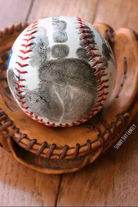 Baseball - Father's Day Crafts