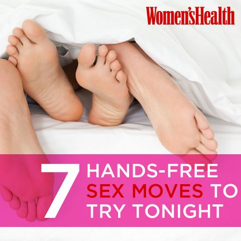 7 Hands-Free Sex Moves to Try Tonight