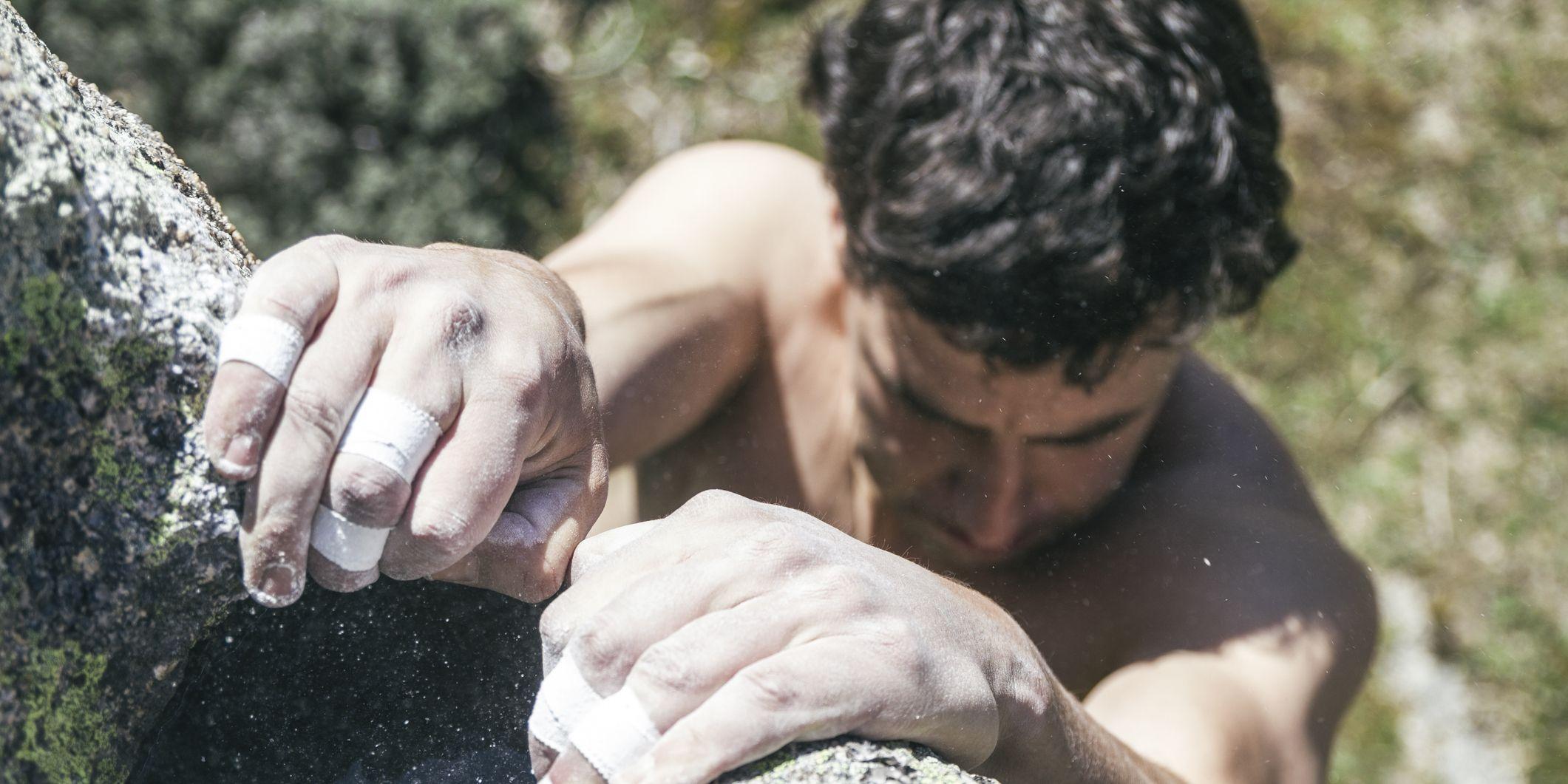 How Climbers Train Grip Strength