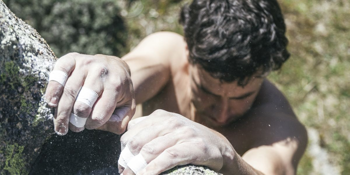 How Climbers Train Grip Strength
