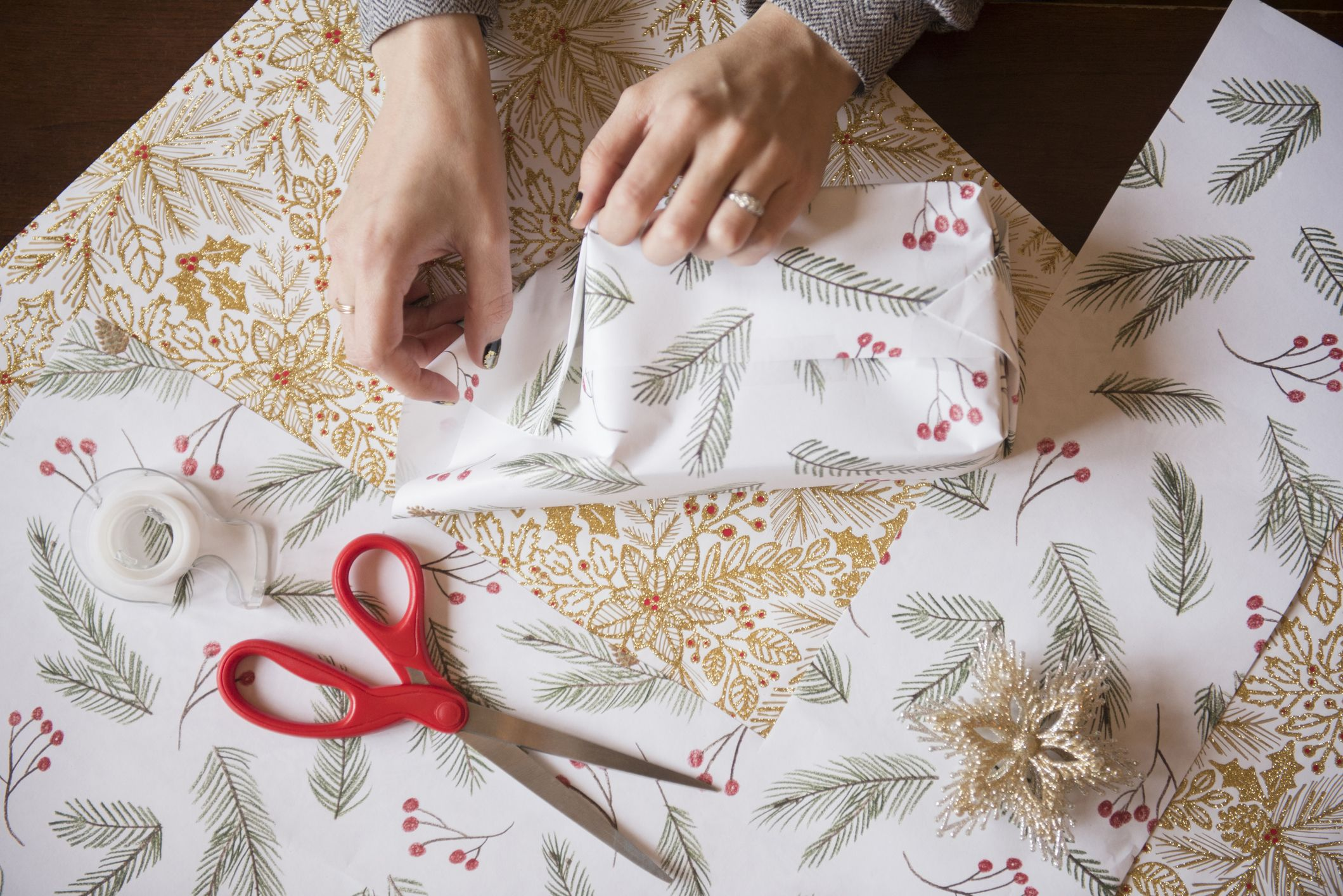 'Life-changing' Christmas wrapping hack shows how to make your paper go further