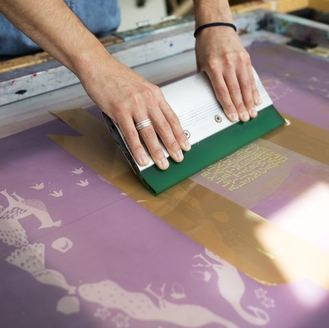Airbnb Experiences - Screen printing