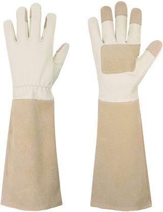 gants d'élagage roses pratiques