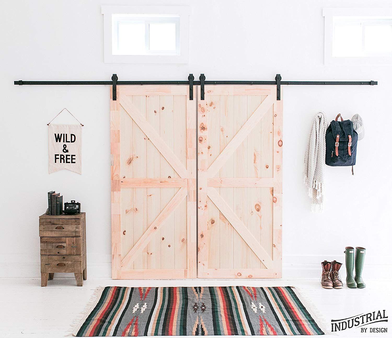 This DIY Sliding Barn Door Kit on Amazon Will Make Your Farmhouse Dreams Come True