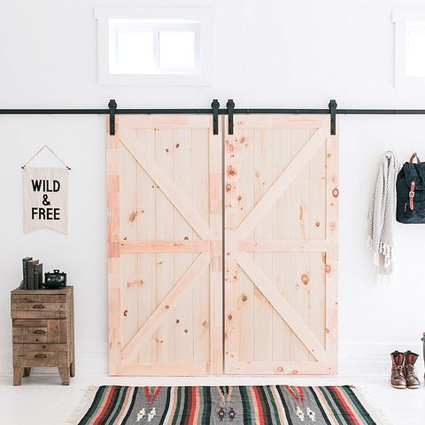 This Sliding Barn Door Kit On Amazon Is A Fixer Upper Fan S Dream