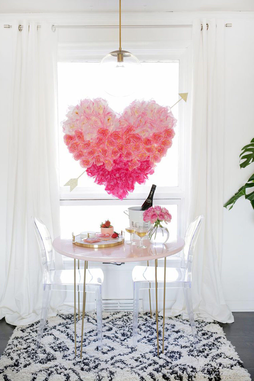 21 Diy Valentine S Day Decorations Best Homemade Decorating Ideas For Valentine S Day