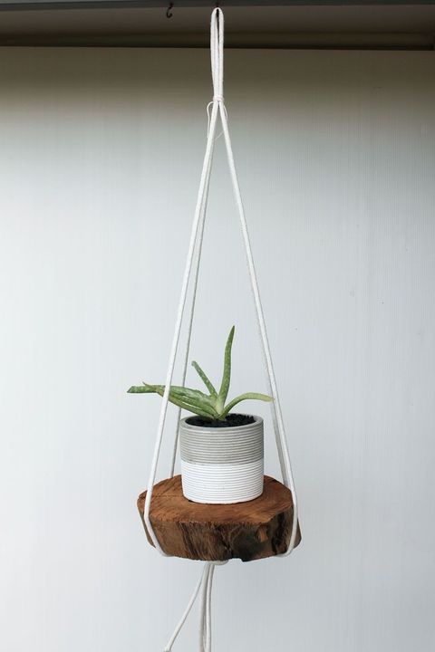 hanging planters rope