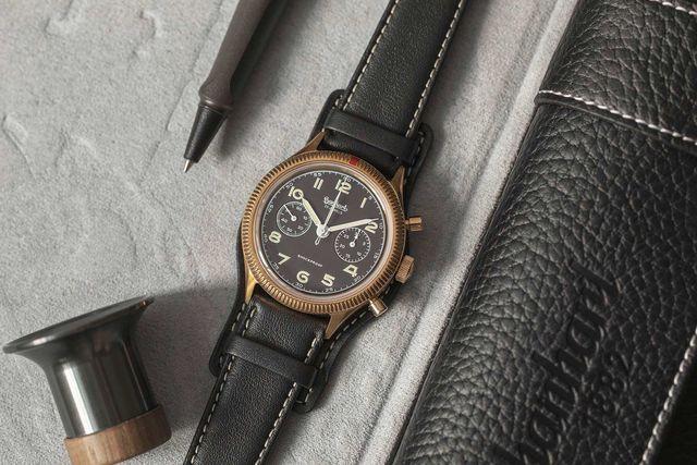 hanhart bronze 417 chronograph