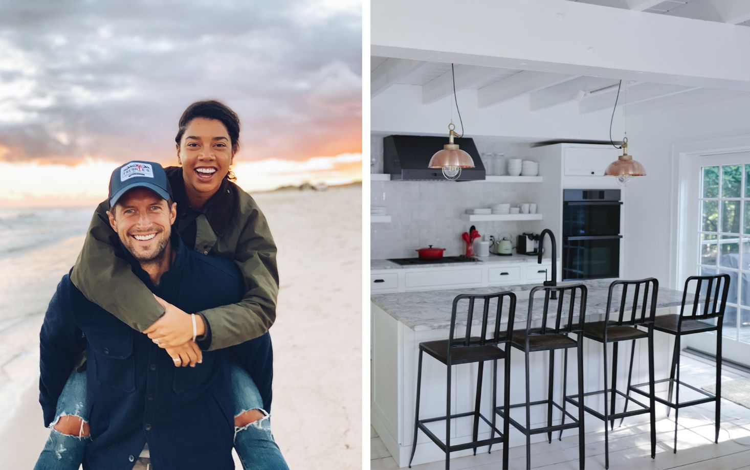 Inside Hannah Bronfman and Brendan Fallis's Charming Hamptons Kitchen Makeover