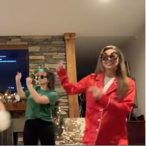 hannah brown christmas dance routine