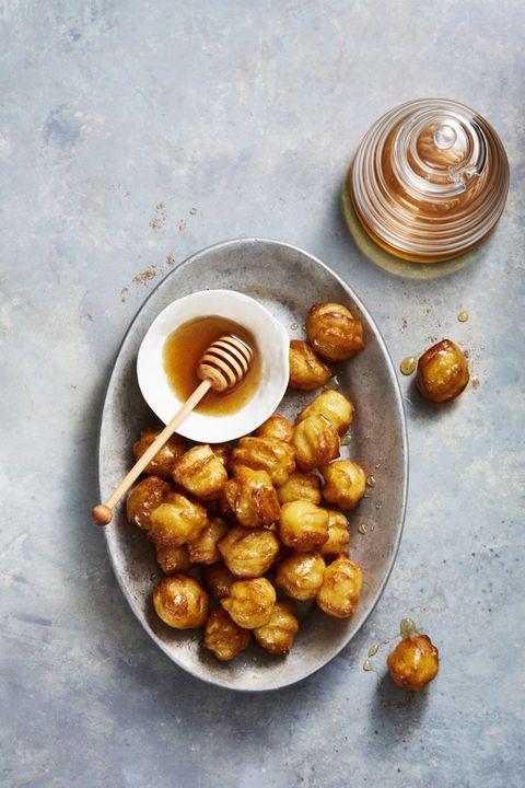 Hanukkah Honey Balls