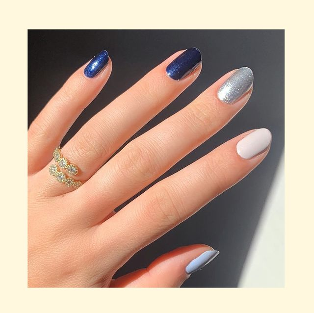 17 Design Ideas for Hanukkah Nails to Try This Holiday Season