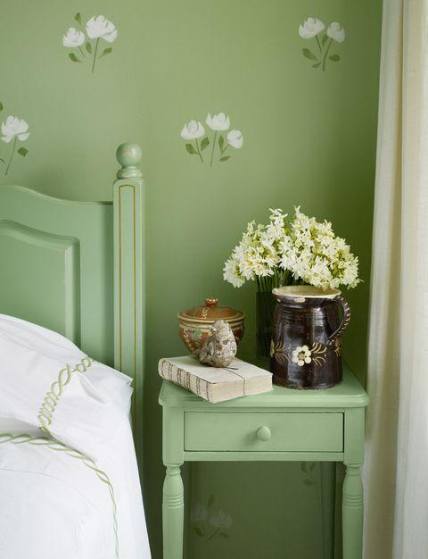cores mais felizes, verde